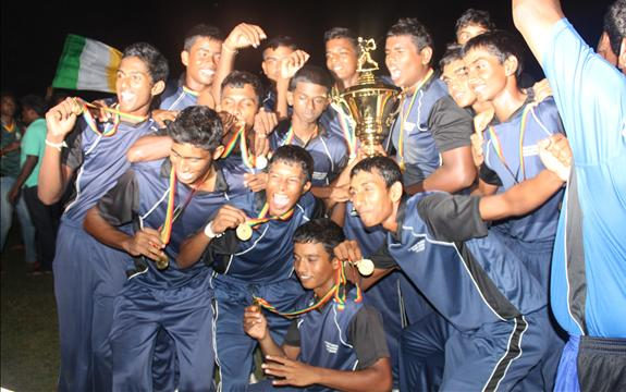 Mt.Lavinia St.Thomas; champions in U17-D1