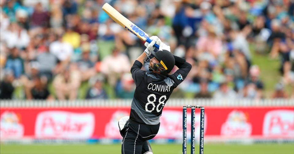 NZ crush Bangladesh by 66 runs as Conway extends his sublime form with the bat