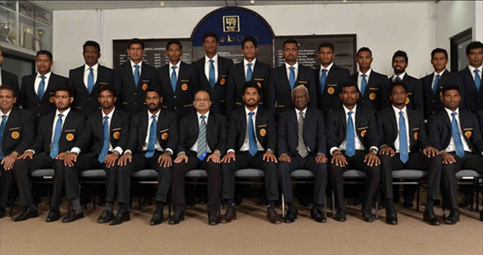 New Look Lankan T20 squad leaves to India