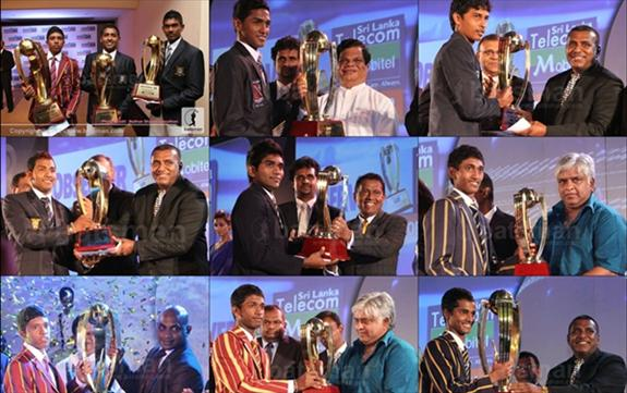 Observer - Mobitel Schoolboy Cricket Award Winners