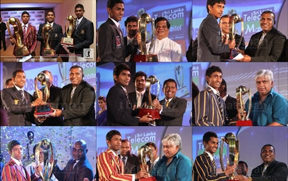 Observer - Mobitel : Schoolboy Cricket Award Winners