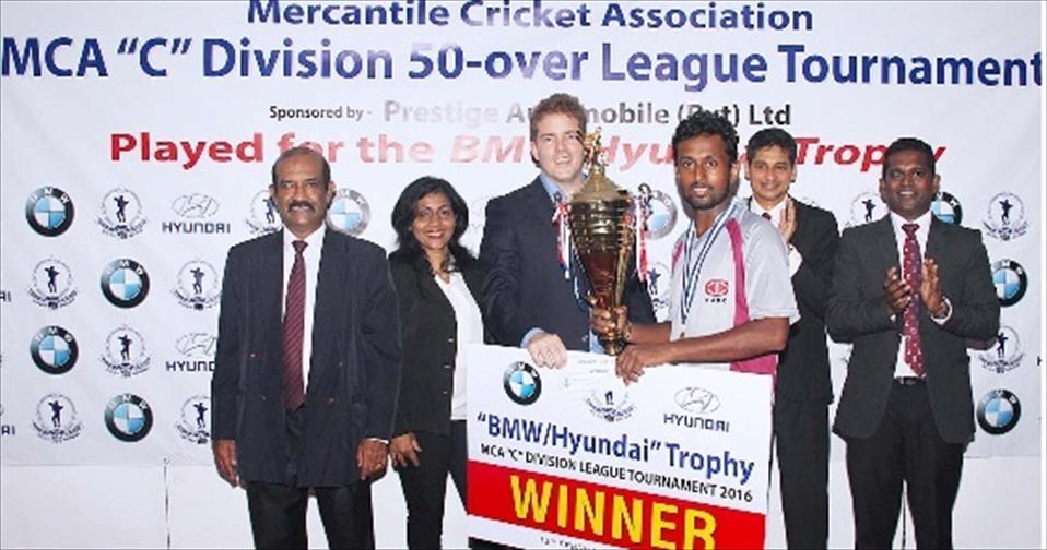 PABC lift MCA C division Limited Over Crown