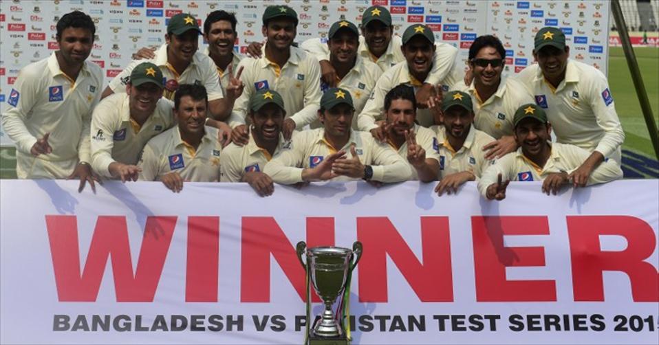 Pakistan end tour with a triumph in Test series