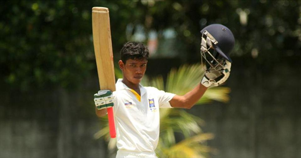 Pathum and Ashens tons headline in drawn Youth Test No.2