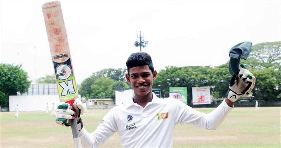 Pathums double ton propels Isipathana to an innings-win over Presidents