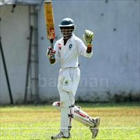Pramod helps Isipathana gain first-ing. Points