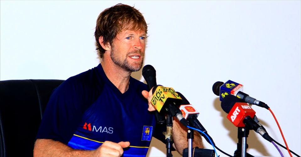 Press Conference with Jonty Rhodes