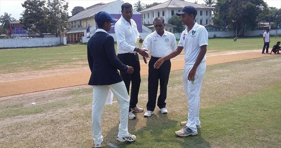 Rain mars Sumangala vs. Devapathiraja group match