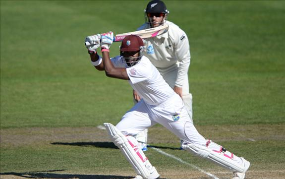 Rain saves West Indies in the first Test