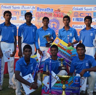 Revatha wins Old Revatha 6 a-side Tournament 2013