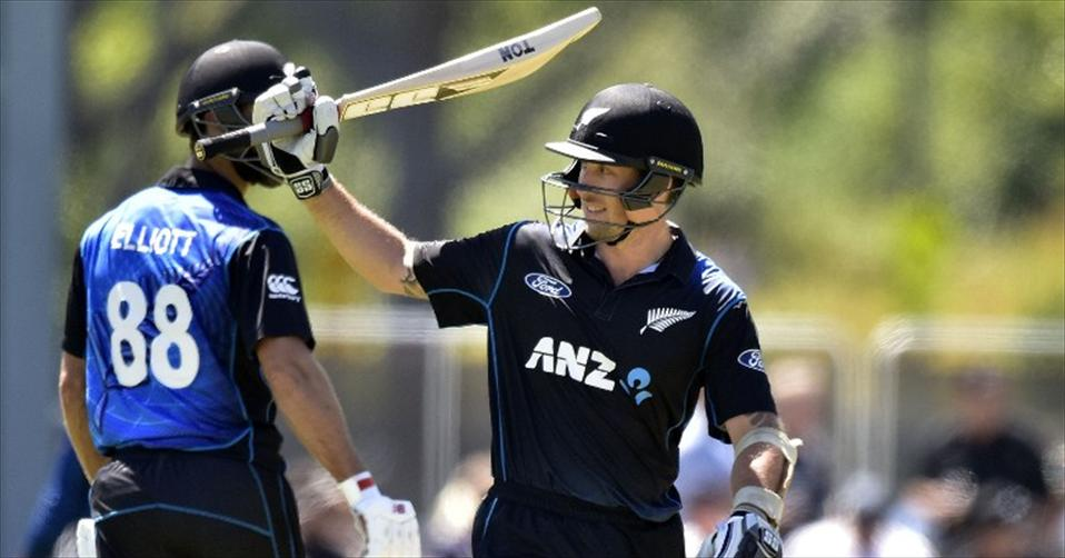Ronchi & Elliott make NZ invincible in series