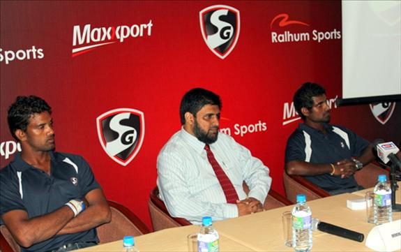 SG and Ralhum Sports combined in Sri Lanka