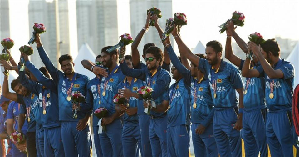 SL Mens cricketers win first Gold for Sri Lanka