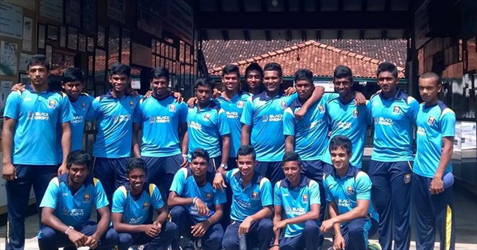 SL U 19 drubs Badureliya and Galle CC