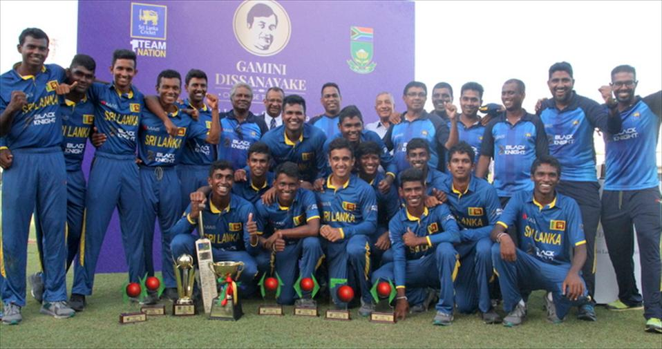 SL Youth seal series winning Gamini Dissanayaka Challenge Trophy