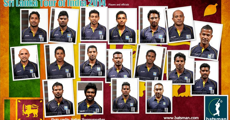 SL team leaves island for 5-ODI series in India