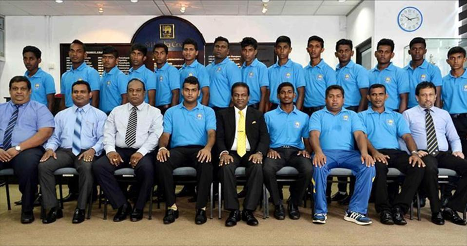 SLC President meets Malaysia-bound Minor Dist. Team