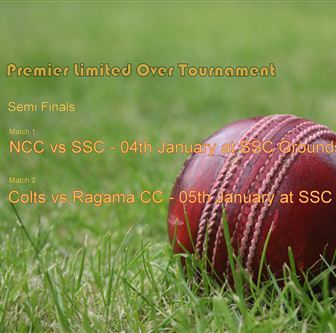 SSC meets NCC and Colts meets Ragama - Semi Finals