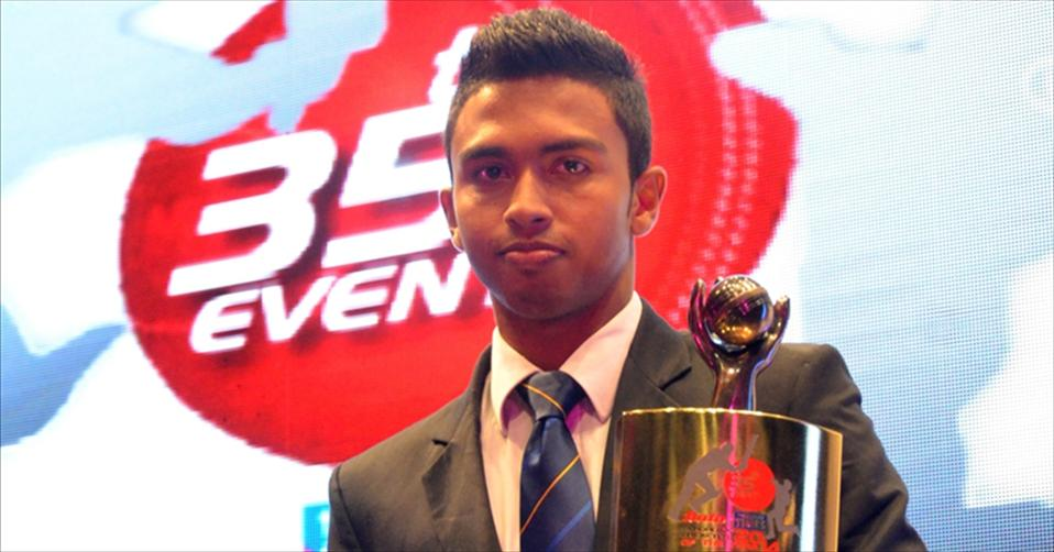 Sadeera crowned Schoolboy Cricketer 2014