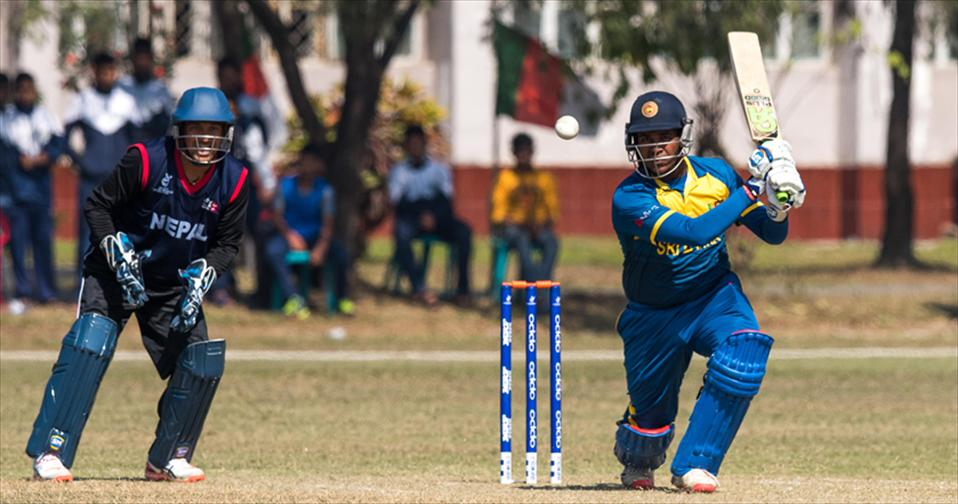 Sammu and Asalanka steers SL U 19 to 2nd Win