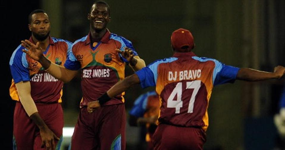 Sammy, Pollard, Bravo boost Windies