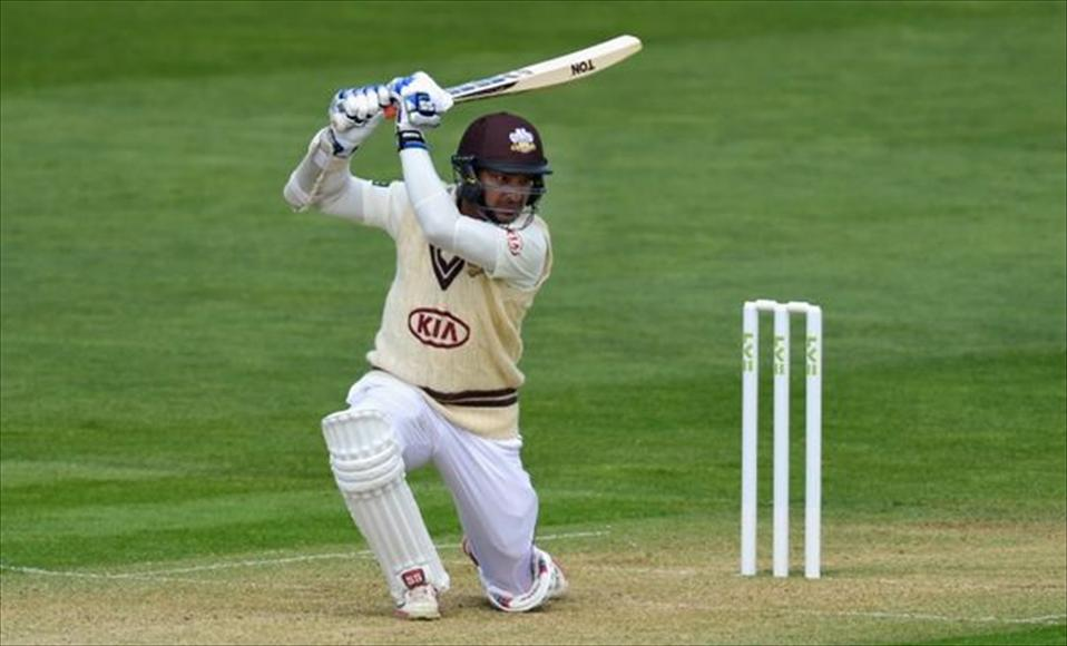 Sanga cracks Ton as Surrey close in on Title