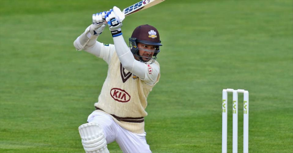 Sanga shows a feisty approach in county cricket