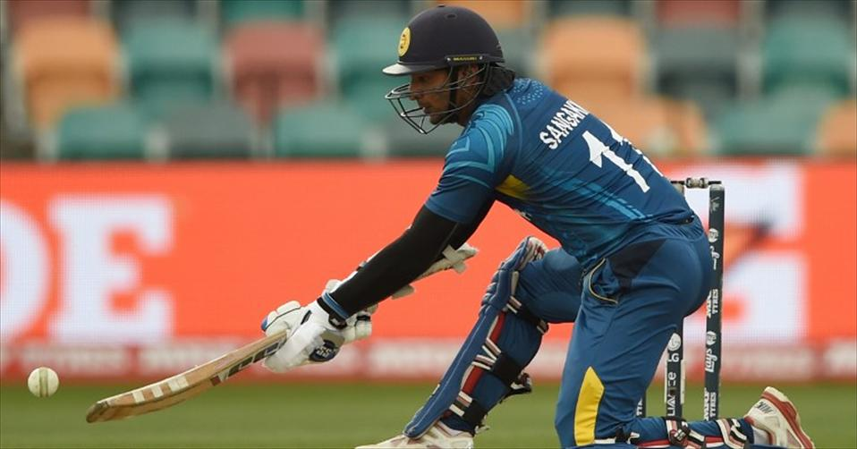 Sangakkara creates history as SL beat Scotland