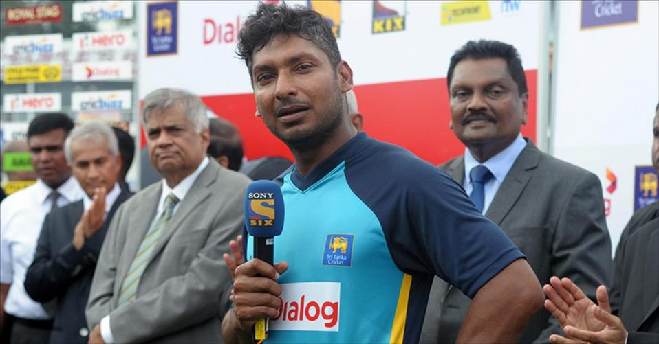 Sanga's Final words as a Lankan Player