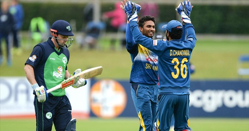 Shanaka and Chandi shine as SL beat Ireland