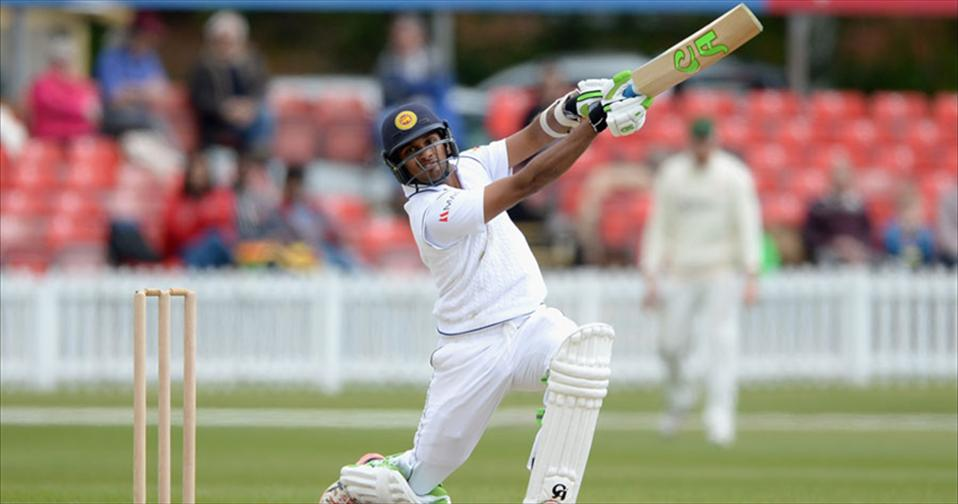 Shanaka and Dimuth hit tons in Leicester Draw