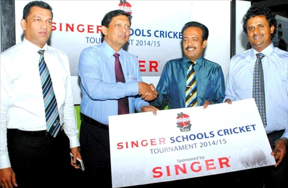 Singer powers school cricket