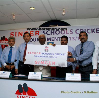 Singer to Sponsor Sri Lanka Schools Cricket