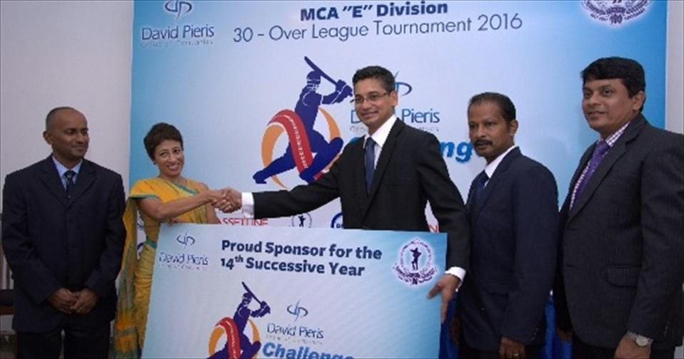 Sponsorship handing over ceremony at the MCA