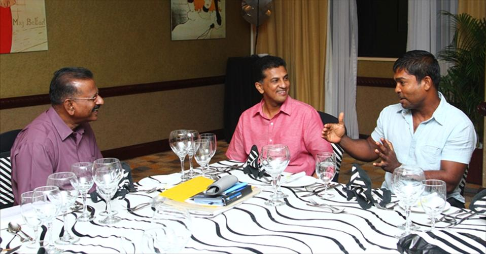 Sri Lanka A dinner with Roshan Mahanama
