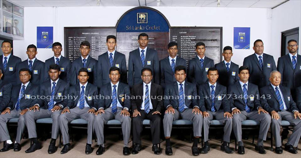 Sri Lanka Youth side departs for England