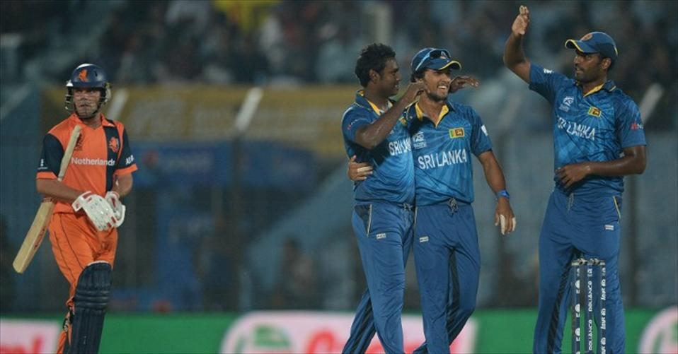 Sri Lanka crush hopeless Netherlands