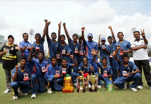 Sri Lanka emerged Champion