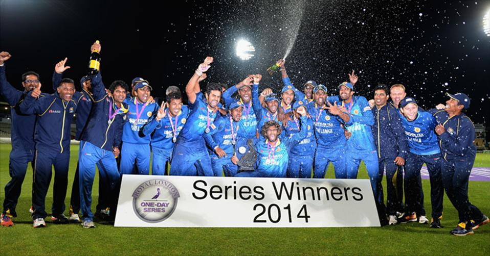 Sri Lanka win ODI series 3-2 over England