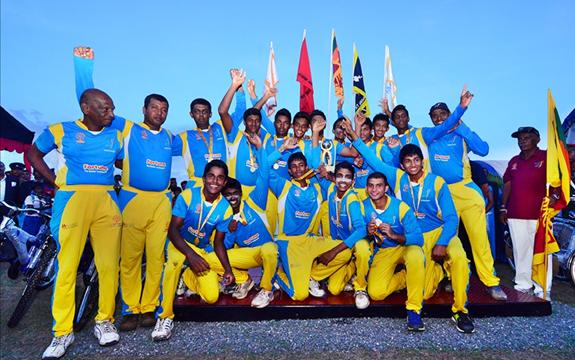 St.Peter's win the Murali Cup 2013