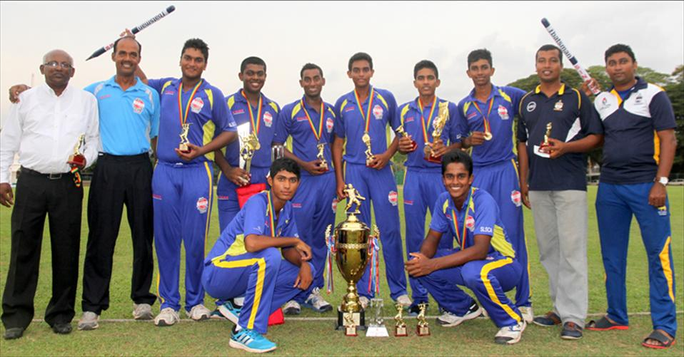 St.Peters win the title of Singer 6-a-side tourney