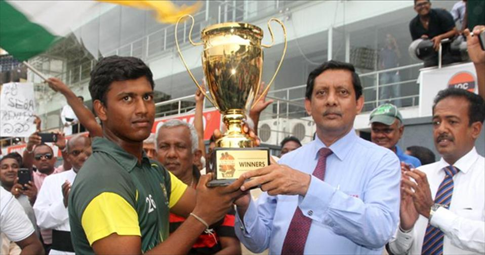 St.Sebastians, Moratuwa crowned 2016 U19 limited-over Champions