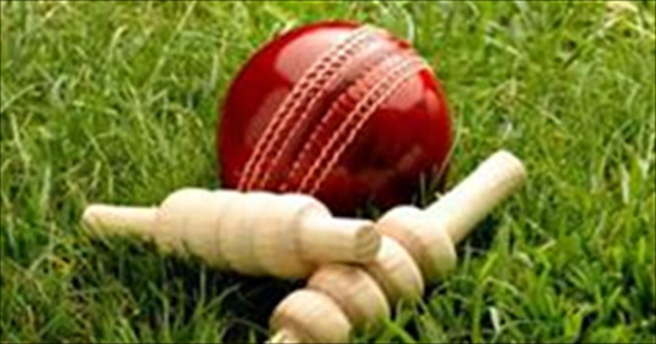 St.Servatius collect first innings points in drawn game