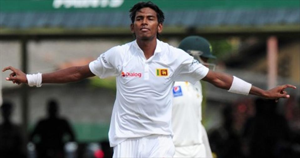 Stress fracture keeps Chameera out of England tour