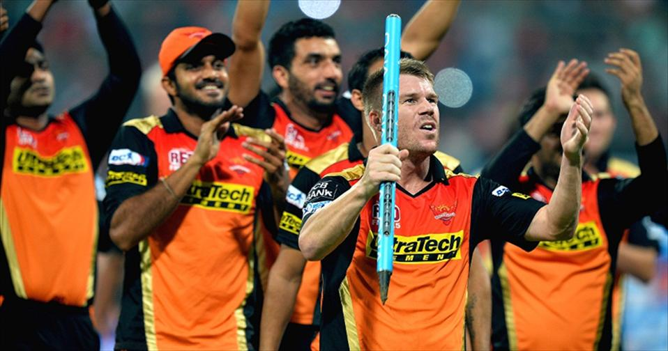 Sunrises beat RCB for the 9th IPL Crown