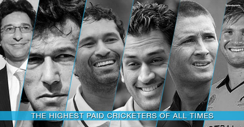 Ten Richest Cricket Players in the World