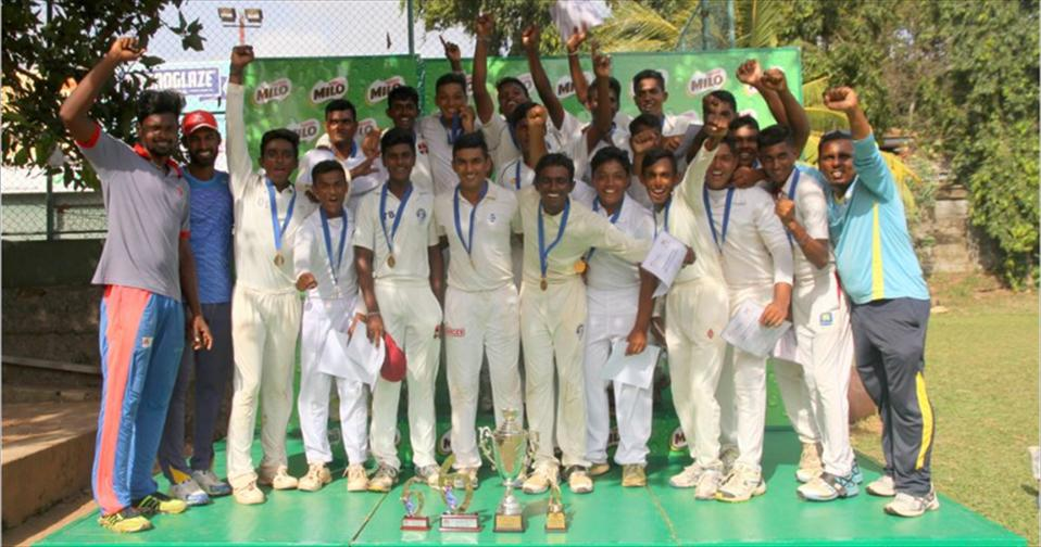 The young cricketers of Lyceum International- Wattala substantiates their brilliance