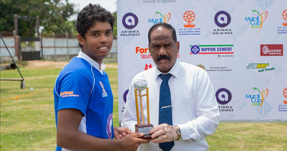 Two centurians walked the ramp on day 01, as Murali Harmony Cup kicks off