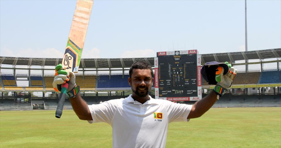 Udara scores his career-best of 318 for Ragama