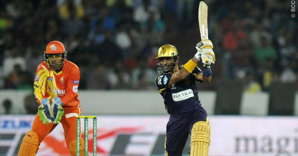 Uthappa and Gambhir seal Knight Riders 2nd win